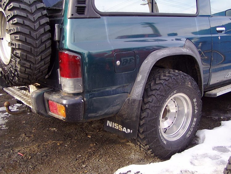 The modification of off-road vehicles